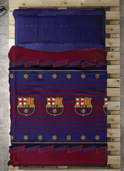 Juego de sábanas oficial FC BARCELONA