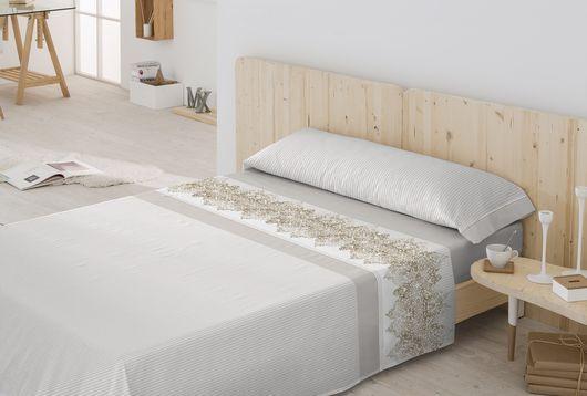 Juego de Sábanas 100% Algodón CRYSTAL Textil Antilo