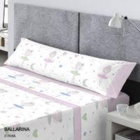 Juego de sábanas BALLARINA Catotex ROSA
