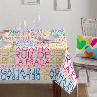 Mantel Algodón SCHOOL-032 Agatha Ruiz de la Prada