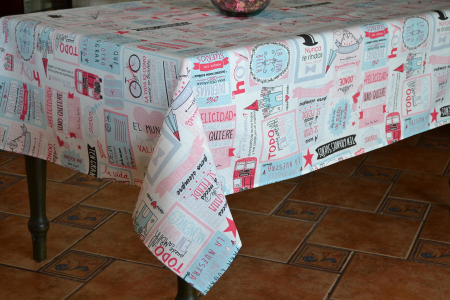 Mantel Resinado Antimanchas WONDER CassaLuyton