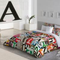 Funda Nórdica LETTERS Zebra Textil