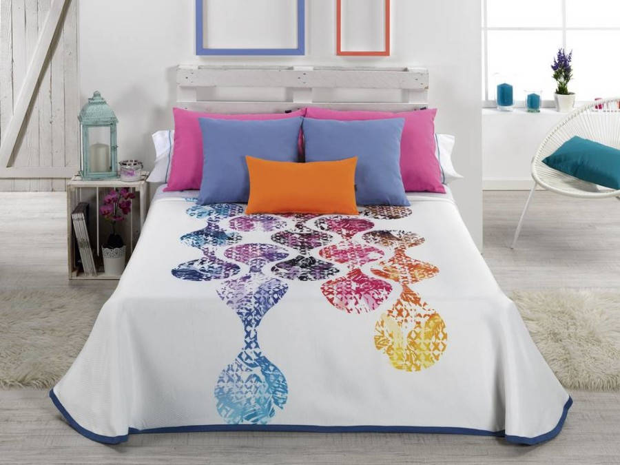 Colcha de cama Cañete Textil - Modelo ONELA