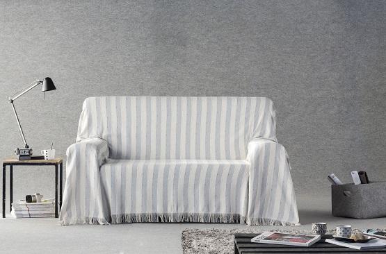 foulard para sofá